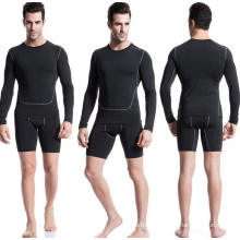 Tight High Elastic Long-Sleeve Men Fitness Sports T-Shirt