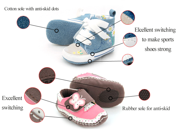 Baby Sports Shoes & Pre-Walkers in Best Quality & Anti-Skid