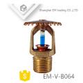 EM-V-B064 Brass antirust Pendent Fire Fighting Sprinkler Head Nozzle
