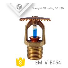 EM-V-B064 Brass antirust Pendent Fire Fighting Sprinkler Head Nozzle
