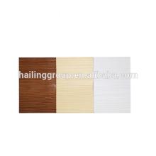 Europa Mitteldichte Holzmaserung 10mm verstärkte Faserzementplatte