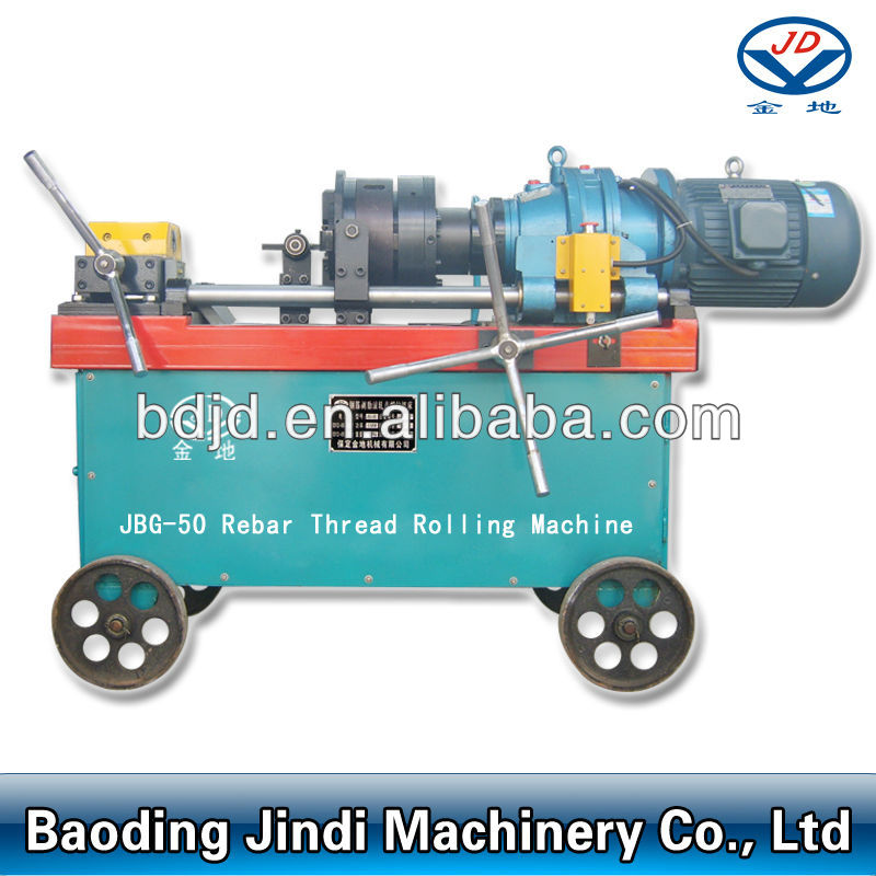 JBG-50 Rebar Rib Peeling e Threading Machine