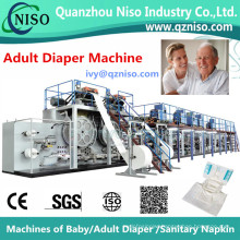 Full-Servo Control Full-Function Adult Diaper Machine Factory (CNK300-SV)