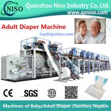 Full-Servo Control Full-Function Adulto Fralda Machine Factory (CNK300-SV)