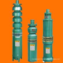 Pompe verticale submersible horizontale de puits long multicellulaire de puits profond