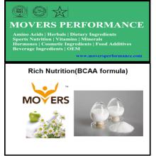 Fórmula Bcaa de la nutrición rica del OEM