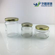 Round Glass Honey Jars with Twist Lids Wholesale