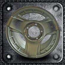 4x4 Alloys Wheels Silver Machine Face 15 inch