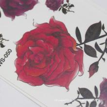 MOQ 500 China Professional Manufacture Non-Toxic Self Adhesive Body Temporary Tattoo Sticker