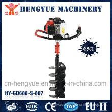 Cavador de postes de gasolina con motor
