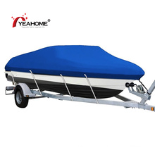 Heavy Duty Covers PVC Coating Waterproof Anti-UV Trailerable Boat Cover