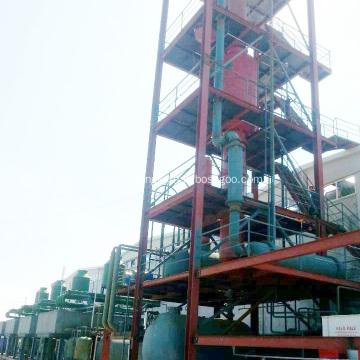 Refinery Crude Oil Distillation to Gasoline Process