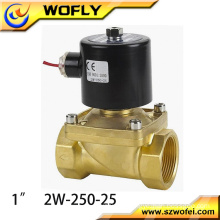 2/2 way high pressure normal temperature brass solenoid water valve 12v/24v/220v normally closed