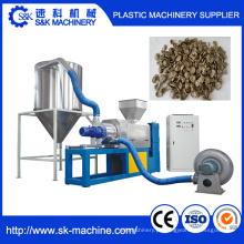 Máquina de espremedura de secagem de filme plástico com propriedade granulador