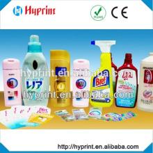 personnalisé des étiquettes autocollant IML pour récipient en plastique iml