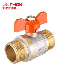 Válvula de esfera de latão de alta qualidade de 15mm com rosca interna para TMOK