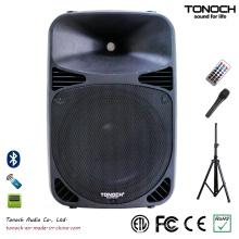 Profissional de 12 polegadas de plástico PRO áudio com preço competitivo