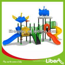 Liben Kids Hot Sale Outdoor Playground Equipment Playset Plans