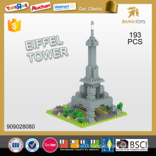 France famous building mini eiffel tower 193 pcs building block