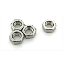 M3 Hexagon Steel Silver Nut