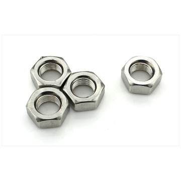 M3 Hexagon Steel Silver Nut