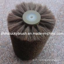 China-Herstellung Pferd Haar Material Schuh Polieren Rad Bürste (YY-007)