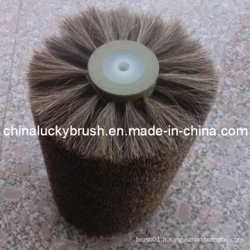 Fabrication en Chine du matériel de cheveu Brosse de roue de polissage des chaussures (YY-007)