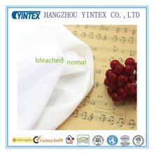 No tela de forro de algodón Strech-White para forro de vestir, forro de tela