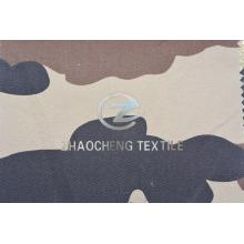 T / C65 / 35 2/1 Tejido de camuflaje del desierto de la tela cruzada para el chaleco (ZCBP272)