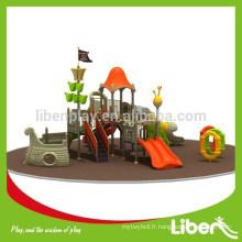 Respectez les normes européennes de luxe Enfants Preschool Outdoor Outdoor Parkground slides avec GS Certificate