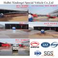 9ton 9cbm Dongfeng Euro IV Frente rasante agua tanque camión cisterna