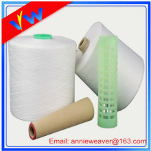100% Polyester Thread Yarn 50S/2 Raw White