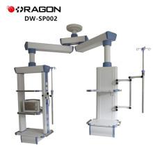 Equipo de hospital ICU Medical Pendant Double Arm Surgical Tower