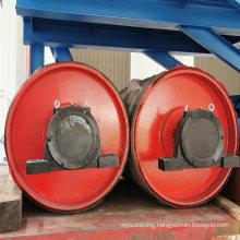 Ske Coal Cement Industry Belt Conveyor Steel Drum Pulley with Rubber Price