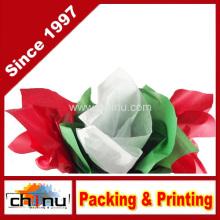 Red, Green & White Christmas Tissue Paper (510048)