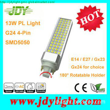 Indoor 13W G24 Dimmable LED Plug Light 220V with CE RoHS