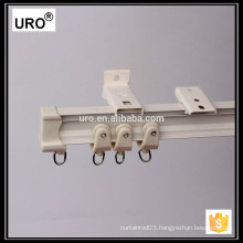 corner ceiling mount curtain track