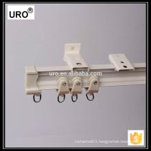 corner ceiling mount curtain track