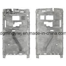 Vendas aquecidas e vantagem única da liga de magnésio Die Casting para carcaças do telefone (MG1238) Feito na fábrica chinesa