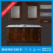 New Solid Wood Bathroom Cabinet Vanity
