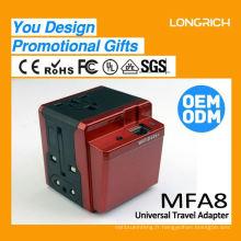 2015 Universal 12 volts chargeur portable, précieux usb3.0 à usb2.0 convertisseur