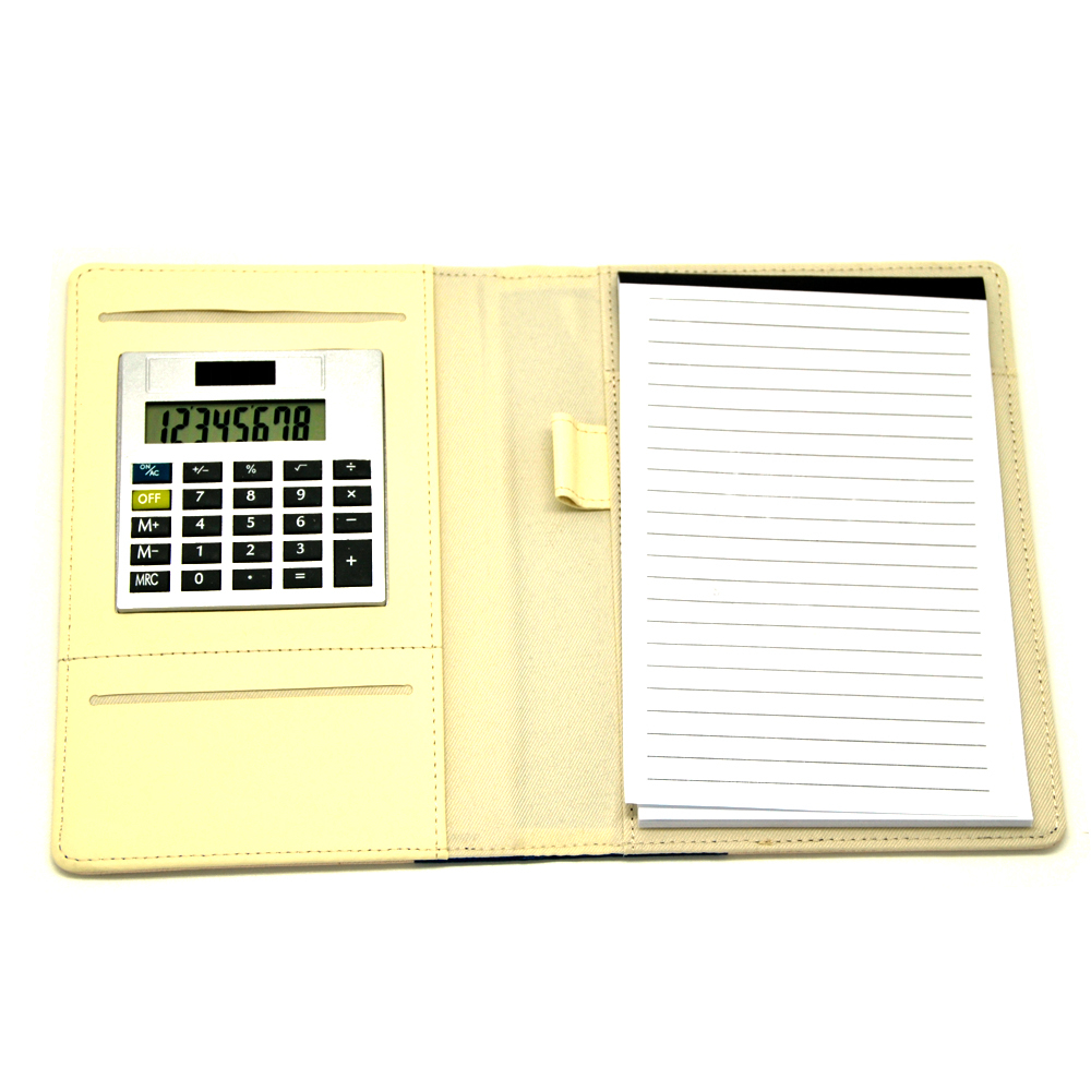 Calculadora de 8 Digits Business PU Notebook