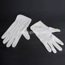 Gants curators blancs 100% coton confortables