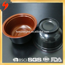 Hot Selling China Factory 320ml Round Disposable PP Plastic Soup Bowl