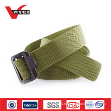Military nylon belt with buckle