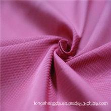 Tissu tissé en sergé Plaid Check simple Oxford Outdoor jacquard 100% polyester (X044)