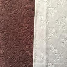 Solid warm color velvet fleece