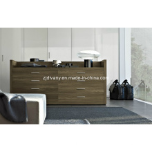 American Style moderne maison armoire bois massif (SM-D30)