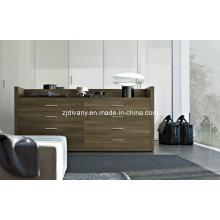 Armário de madeira sólida casa de moderna estilo americano (SM-D30)