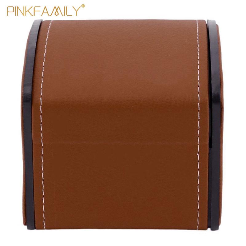 High Grade Leather Custom Storage Display Watch 4